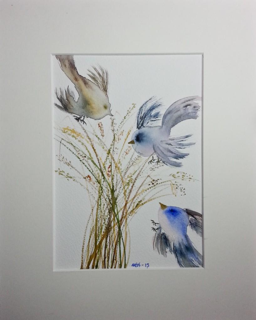 Fågelkärve